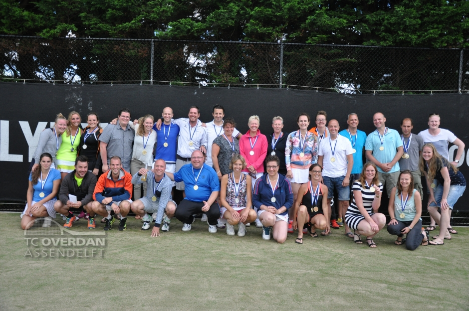 Finalisten Overdan Bondstoernooi 2016