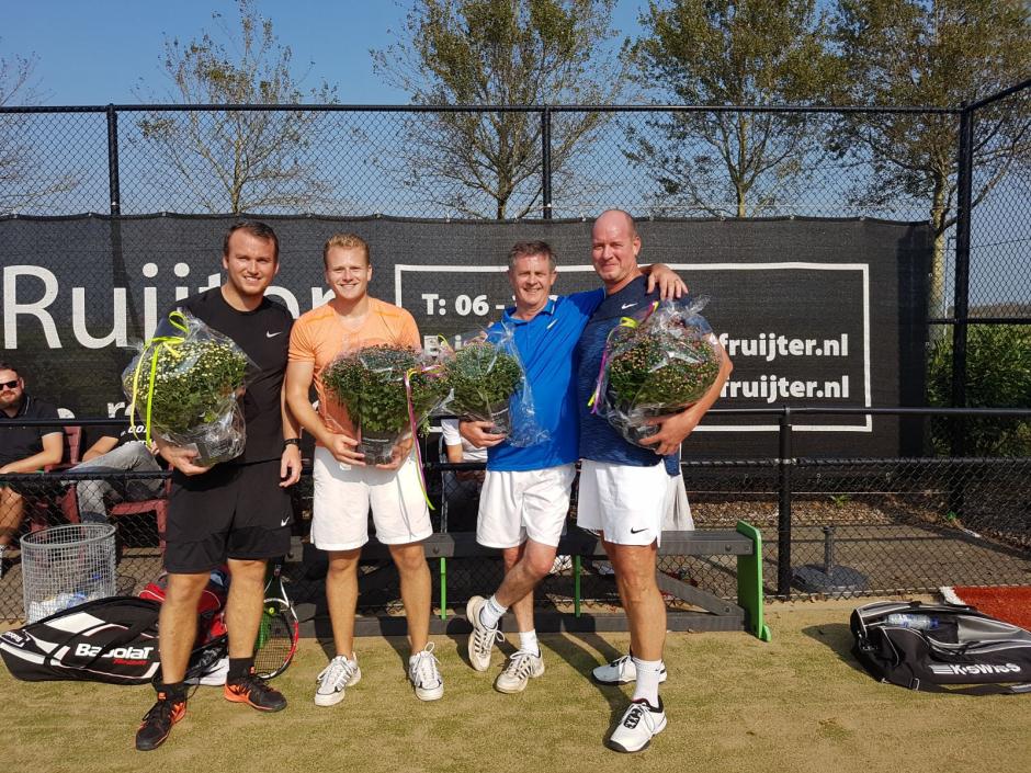 HD7 Jorn, Joey, Piet en Erwin